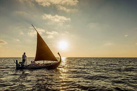 Romantic Sunset Sailing at Como Maalifushi Maldives