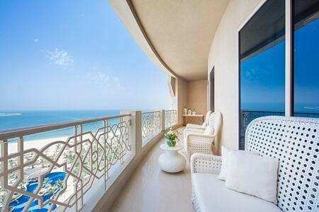 Room balcony at Waldorf Astoria UAE