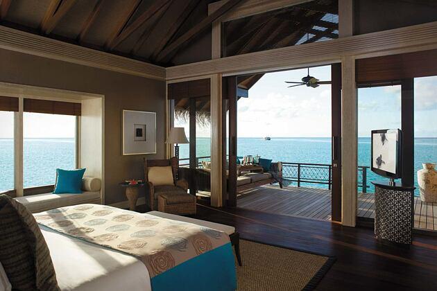 Room with seaview at Shangri la Villingili Maldives