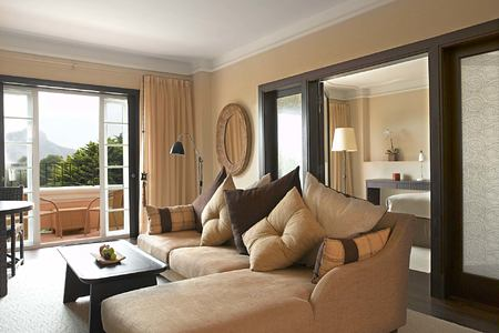 Royal Club Suite living room at la Manga Club Spain