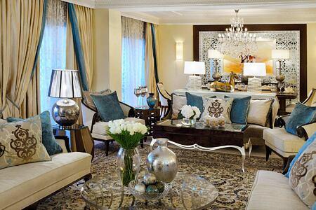 Royal Suite Main Lounge at The Royal Mirage Dubai