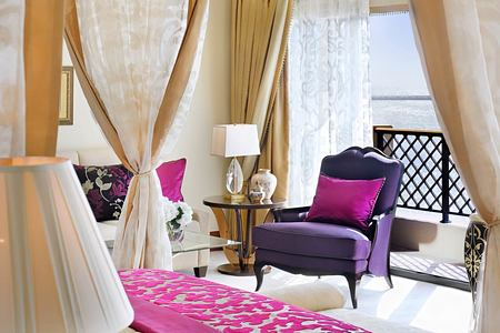 Royal Suite Master Bedroom at The Royal Mirage Dubai