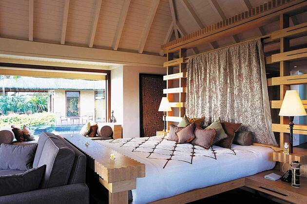 Royal Villa Bedroom at Oberoi Mauritius