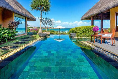 Royal Villa Swimming Pool at Oberoi Mauritius