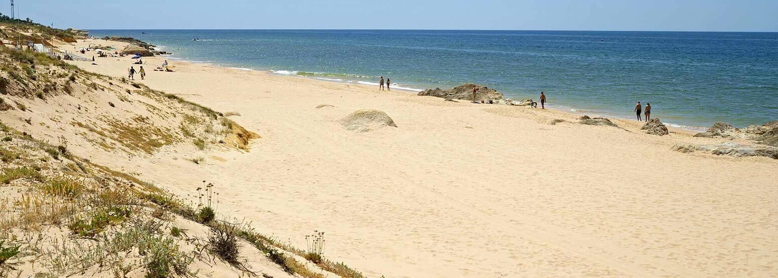 Salgados Beach at Vidamar Algarve Portugal