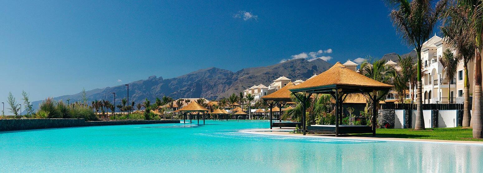 Salt water swimming pool at Redlevel at Gran Melia Tenerife