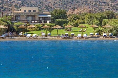 Sea view toward at Elounda Gulf Villas and Suites Crete