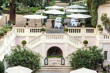 Secret Garden at Hotel de Russie Italy