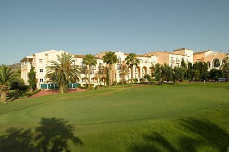Side view of la Manga Club Spain