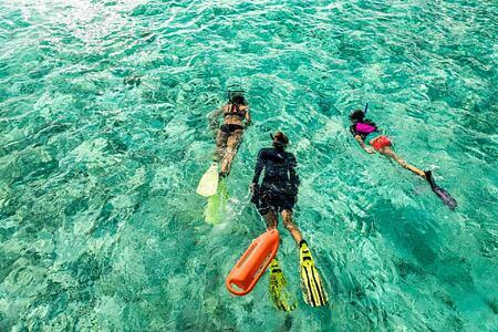 Snorkeling at Como Maalifushi Maldives