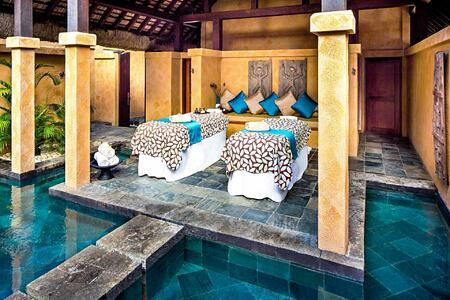 Spa Couple Suite at Oberoi Mauritius