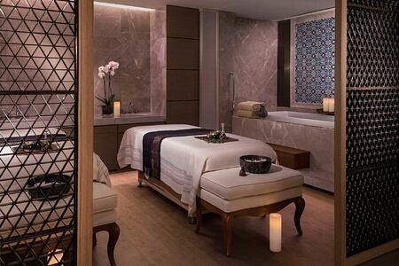 Spa Couples Treatment Room at Shangri la Bosphorus Turkey