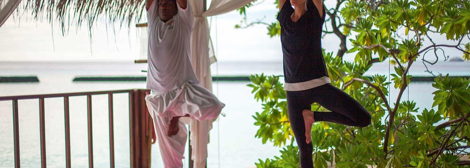 Spa Yoga Pavillon at Constance Moofushi Maldives