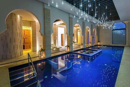 Spa pool at Banyan Tree Tamouda Bay Morocco