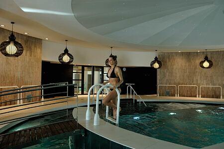 Spa pool at Sofitel Thalassa Agadir Morocco