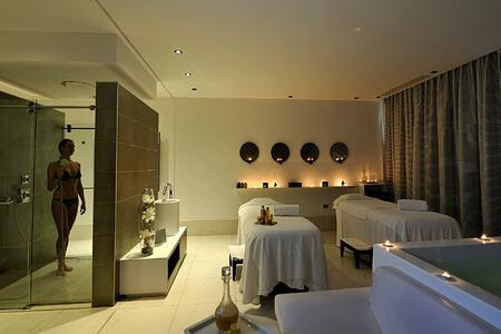 Spa room and shower at Sofitel Thalassa Agadir Morocco