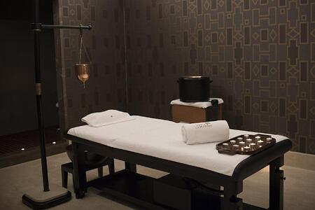 Spa room at Finca Cortesin Spain