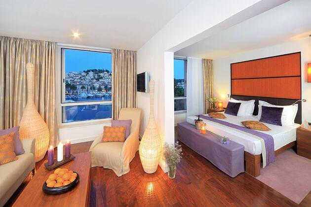 Spa suite at Adriana Hvar Spa Hotel Croatia