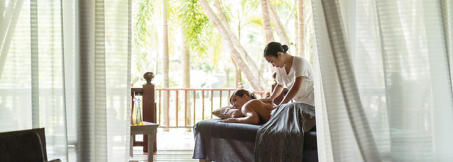 Spa treatment at Four Seasons Langkawi Malaysia
