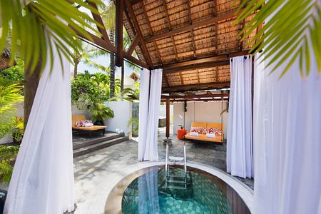 Spa wet area at Constance Belle Mare Mauritius