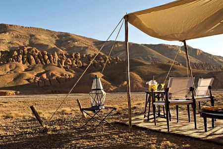 Spectacular views at Dar Ahlam Morocco