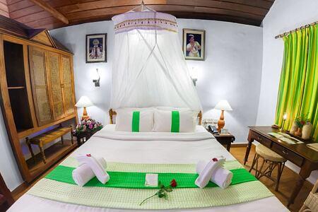 Standard bedroom at Somatheeram Kerala India