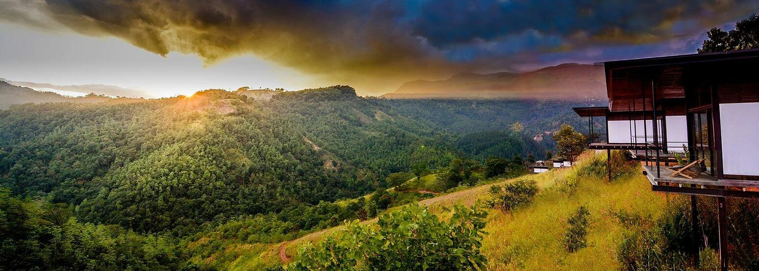 Stunning view at Santani Sri Lanka