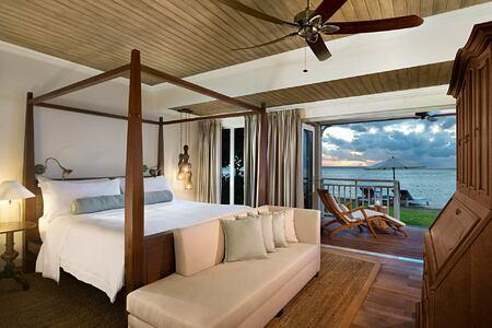 Suite Bedroom at St Regis Mauritius