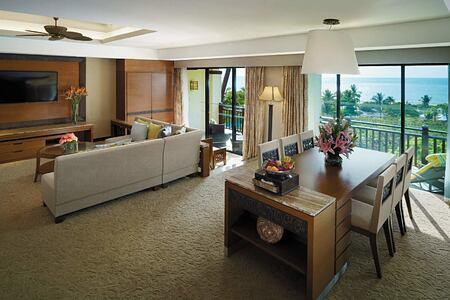 Suite at Shangri la Rasa Ria Borneo Malaysia