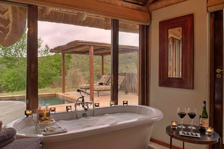 Suite bathroom at Great Fish River Lodge South Africa