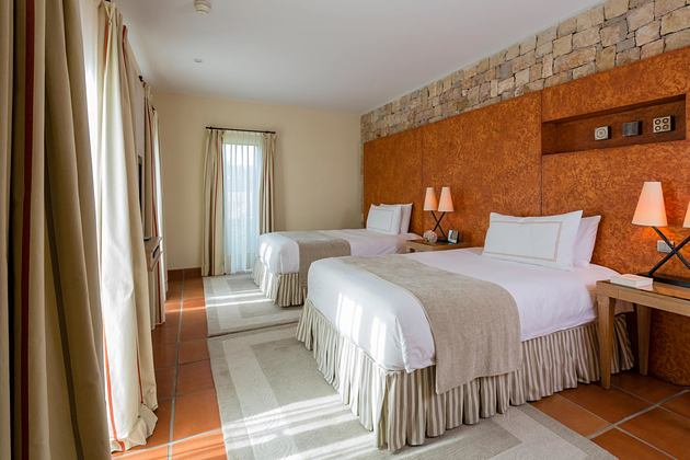 Suite bedroom at Terre Blanche Golf and Spa Resort France