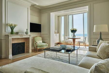 Suite living area at Grand Hotel du Cap Ferrat France