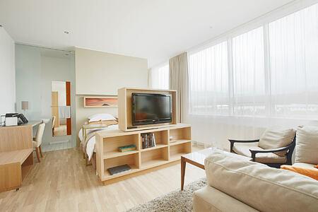 Suite room at Icelandair Hotel Iceland