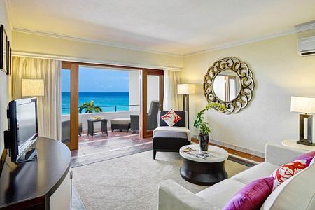 Suite with balcony and seaview at The House Barbados