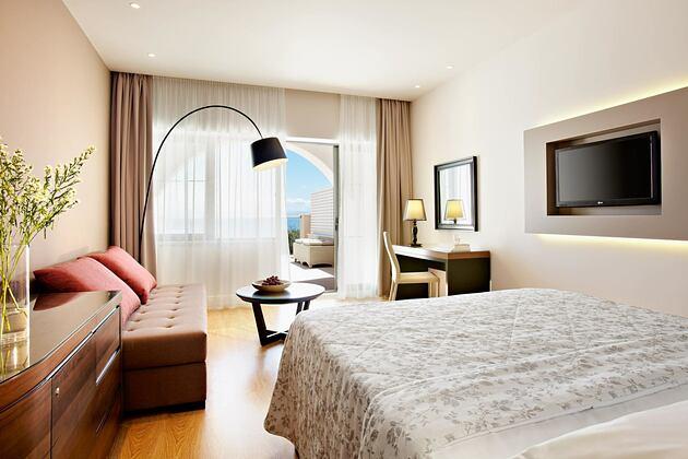 Superior Double Bedroom at Marbella Corfu Greece