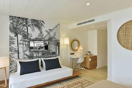 Superior room at Le Canonnier Mauritius
