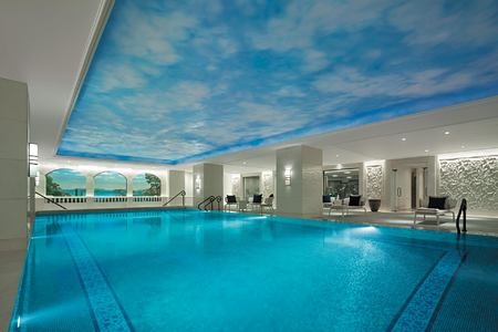 Swimming Pool at Shangri la Bosphorus Turkey