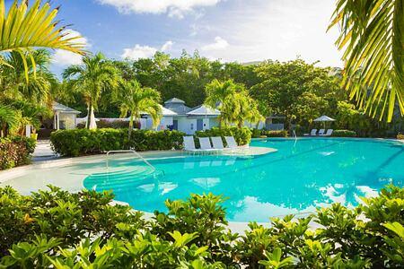 Swimming pool at Carlisle Bay Antigua