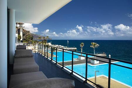 Swimming pools at Vidamar Madeira