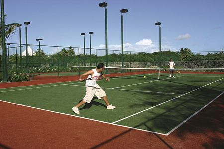 Tennis at Constance Belle Mare Mauritius