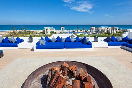 Terrace at Banyan Tree Tamouda Bay Morocco