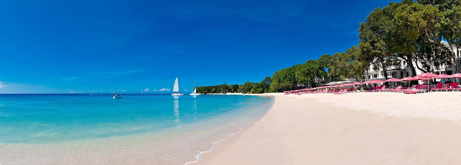 The Beach at Sandy Lane Barbados