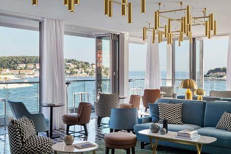 Top Bar at Adriana Hvar Spa Hotel Croatia