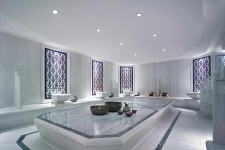 Traditional Turkish Bath at Shangri la Bosphorus Turkey