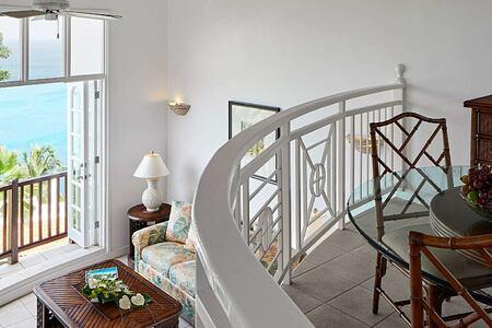 Two level villa at Windjammer Landing St Lucia