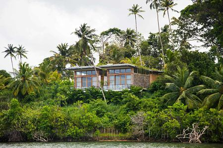 View from river at Tri Lanka Sri Lanka
