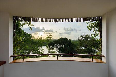 View over river at Tri Lanka Sri Lanka
