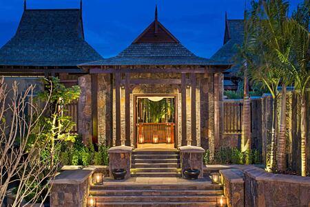 Villa Entrance at St Regis Mauritius