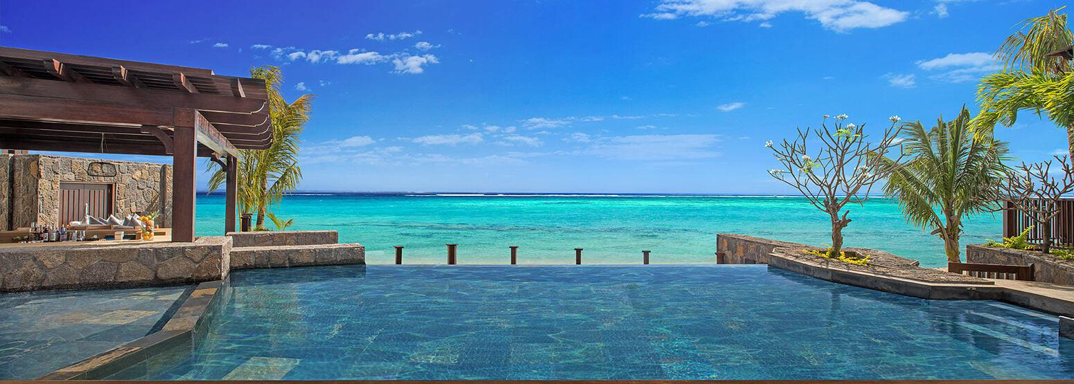 Villa Infinity Pool at St Regis Mauritius