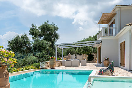 Villa Melina Corfu Greece